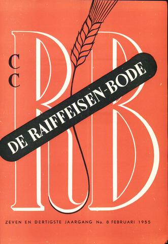 blad 'De Raiffeisen-bode' (CCRB) 1955-02-01