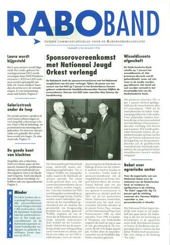 blad 'Raboband' 1994-01-24