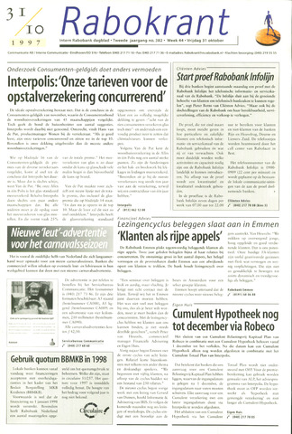 Rabokrant 1997-10-31