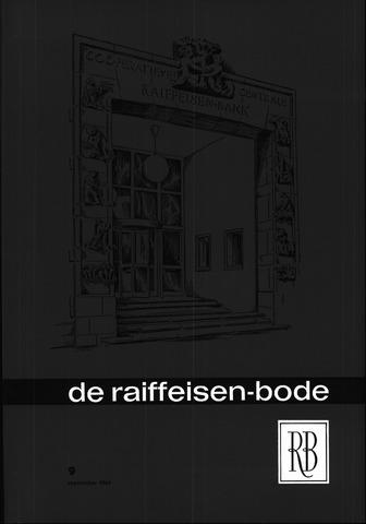 blad 'De Raiffeisen-bode' (CCRB) 1964-09-01