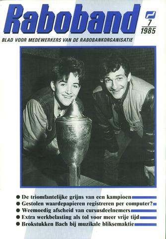 blad 'Raboband' 1985-05-22