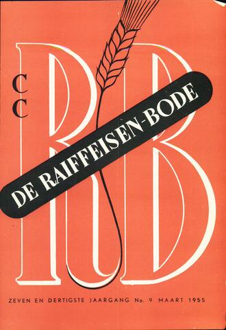 blad 'De Raiffeisen-bode' (CCRB) 1955-03-01