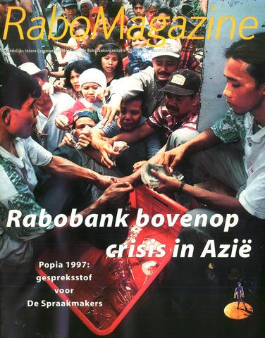 blad 'RaboMagazine' 1998-03-01