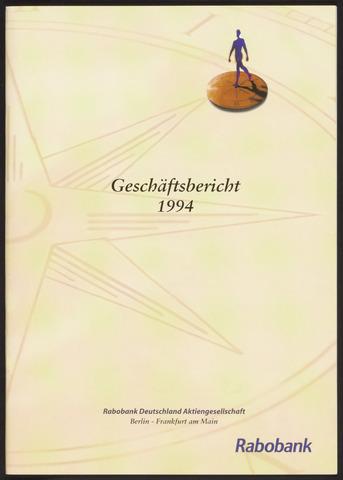 Geschäftsberichte Allgemeine Deutsche Credit-Anstalt / ADCA Bank 1994-01-01