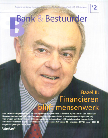blad 'Bank & Bestuurder' 2005-03-01