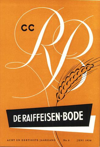 blad 'De Raiffeisen-bode' (CCRB) 1956-06-01