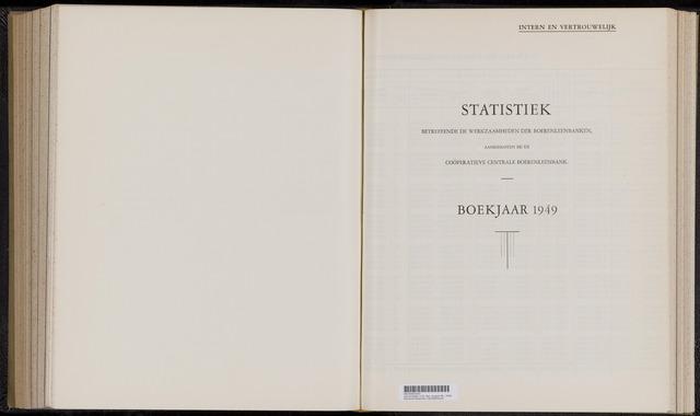 Statistiek aangesloten banken CCB 1949