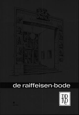 blad 'De Raiffeisen-bode' (CCRB) 1964-06-01