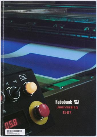 Jaarverslagen Rabobank 1987