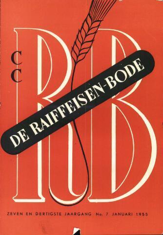 blad 'De Raiffeisen-bode' (CCRB) 1955-01-01