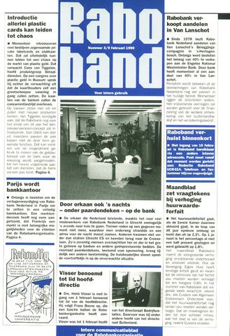blad 'Raboband' 1990-02-09