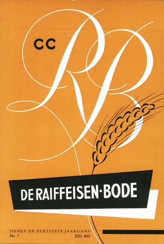 blad 'De Raiffeisen-bode' (CCRB) 1957-07-01