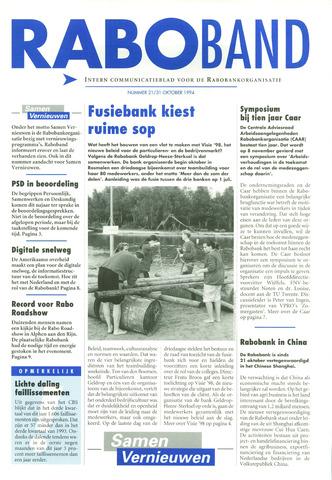 blad 'Raboband' 1994-10-31