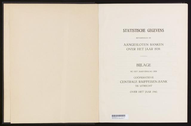Mededelingen lokale banken CCRB 1939-12-31
