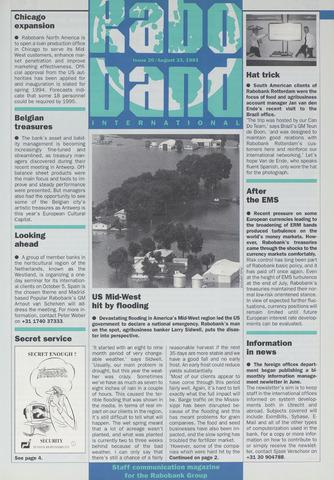 blad 'Raboband International' (EN) 1993-08-23