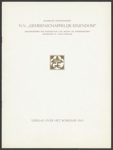 Jaarverslagen Gemeenschappelijk Eigendom 1963-01-01