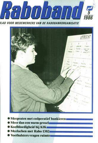 blad 'Raboband' 1986-04-09