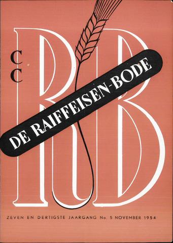 blad 'De Raiffeisen-bode' (CCRB) 1954-11-01