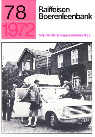 blad 'Raiffeisen Boerenleenbank' 1972-07-01