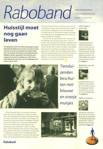 blad 'Raboband' 1995-01-16