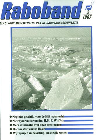 blad 'Raboband' 1987-02-04