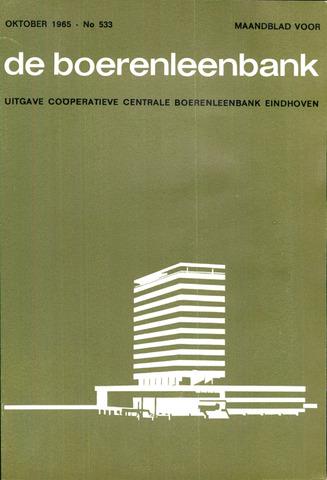 blad 'de boerenleenbank' (CCB) 1965-10-01