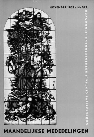 blad 'Maandelijkse Mededelingen' (CCB) 1963-11-01