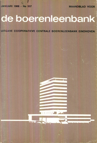 blad 'de boerenleenbank' (CCB) 1968