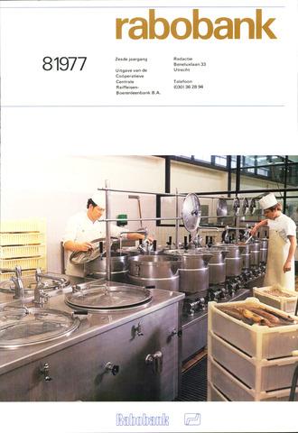 blad 'Rabobank' 1977-08-01
