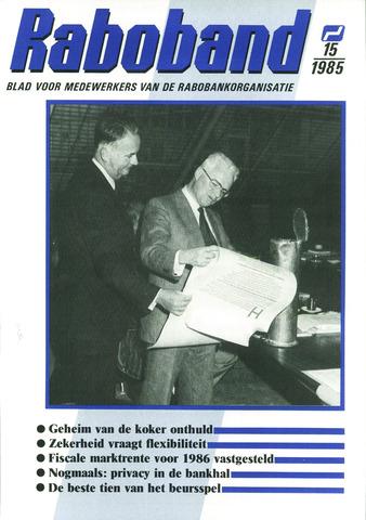 blad 'Raboband' 1985-11-06