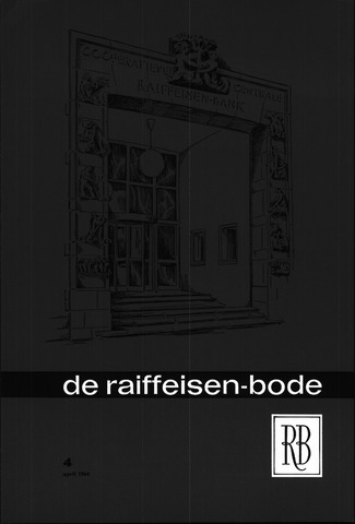 blad 'De Raiffeisen-bode' (CCRB) 1964-04-01