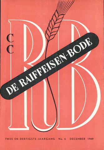blad 'De Raiffeisen-bode' (CCRB) 1949-12-01
