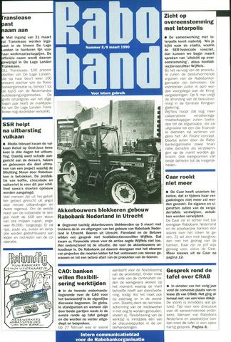 blad 'Raboband' 1990-03-09