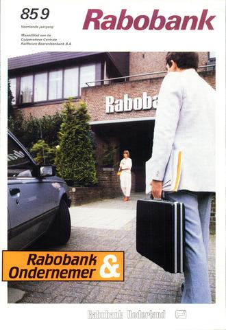 blad 'Rabobank' 1985-09-01