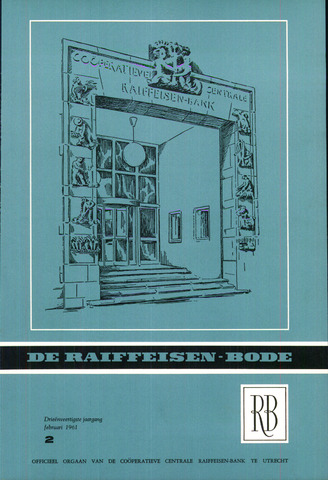 blad 'De Raiffeisen-bode' (CCRB) 1961-02-01
