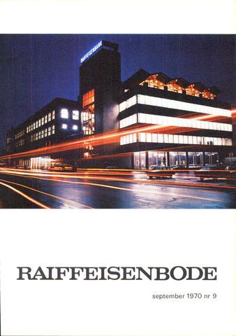 blad 'De Raiffeisen-bode' (CCRB) 1970-09-01
