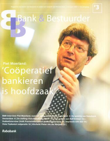 blad 'Bank & Bestuurder' 2003-05-01