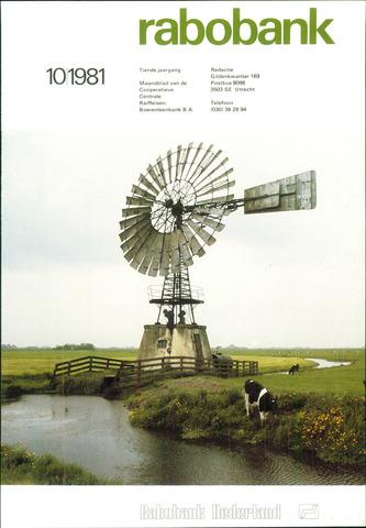 blad 'Rabobank' 1981-10-01