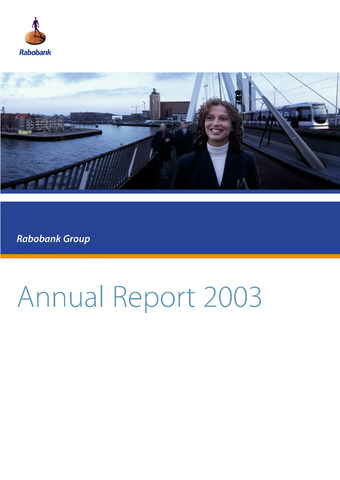 Annual Reports Rabobank 2003