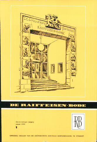 blad 'De Raiffeisen-bode' (CCRB) 1959