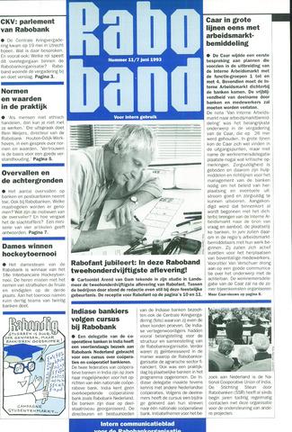 blad 'Raboband' 1993-06-07