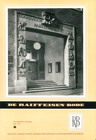 blad 'De Raiffeisen-bode' (CCRB) 1957-06-01