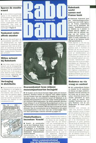 blad 'Raboband' 1990-10-05