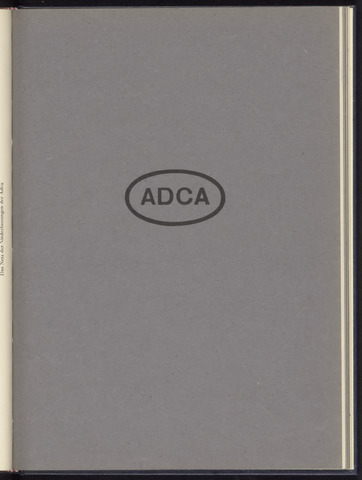 Geschäftsberichte Allgemeine Deutsche Credit-Anstalt / ADCA Bank 1941-01-01