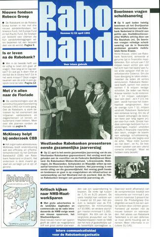 blad 'Raboband' 1991-04-22