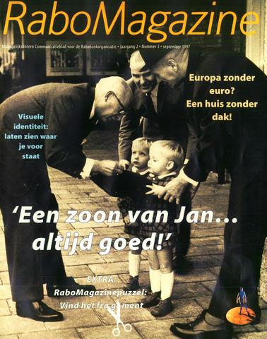 blad 'RaboMagazine' 1997-09-01