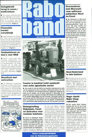 blad 'Raboband' 1993-03-08