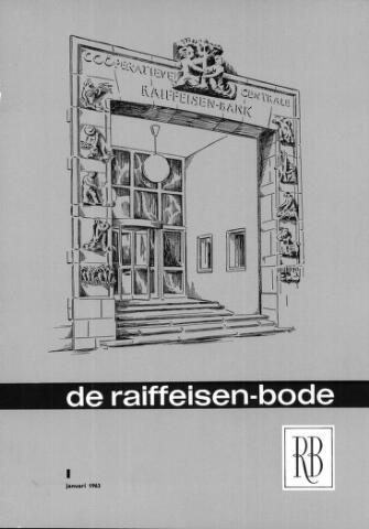 blad 'De Raiffeisen-bode' (CCRB) 1963