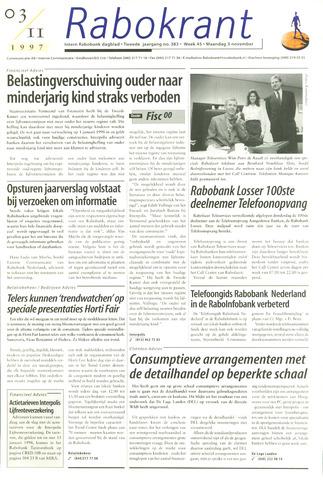Rabokrant 1997-11-03