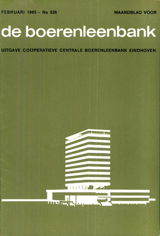 blad 'de boerenleenbank' (CCB) 1965-02-01